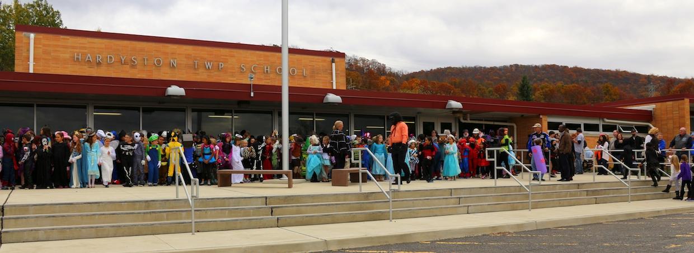 Hardyston Elementary School Halloween Parade